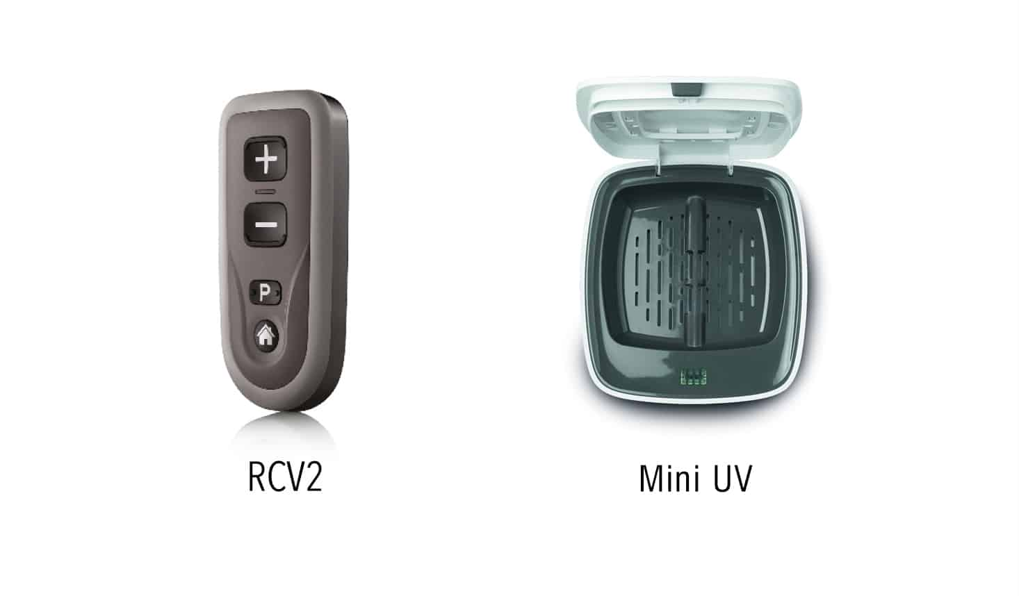 RCV2 and Mini UV Special Deal Hearing Aid Accessories